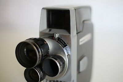 Vintage 8mm Film Movie Camera - Hanimex Movimat ***** Excellent Condition ****