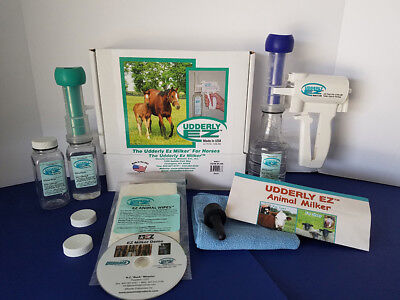 Udderly EZ Horse Mare Foal Colostrum Milker Kit
