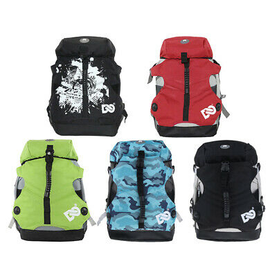 Quad Skate & Roller Skates Bag Double Shoulder Backpack for Skating Boots