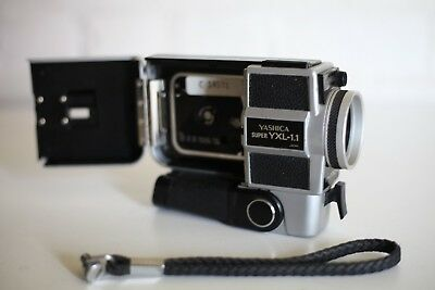 YASHICA SUPER YXL-1.1 8mm Film Movie Camera *** Excellent Working Condition ***