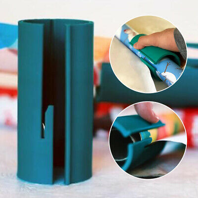 Wrapping Paper Cutting Sliding Gift Present Wrap Packing Roll Cutter Tool
