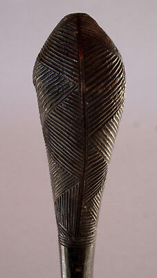Antique African Carved Wood Tribal Club Choke Congo