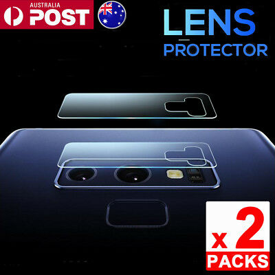 2 Pcs 9H Hardness Camera Lens Tempered Glass Screen Protector For Samsung Note 9