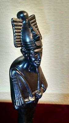 Ancient Egyptian god Osiris statue figurine