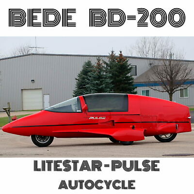 Plans For Homebuild Litestar-Pulse With Enclosed Cabin 100-75Mpg Fuel Economy