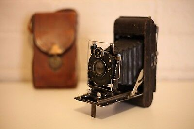 CARBINE Bellows Folding Camera  ***** Excellent Working Condition *****