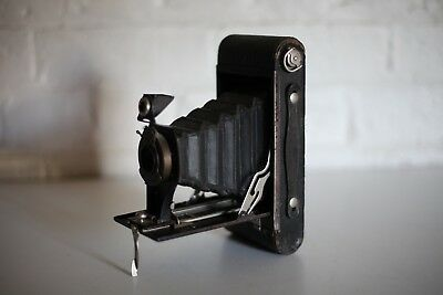 No.2-A Folding AUTOGRAPHIC BROWNIE Camera  ***** Great Working Condition ****