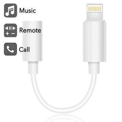 Headphone Adapter For iPhone XR XS MAX X 8 7 Lightning to 3.5 mm MFi-Certified