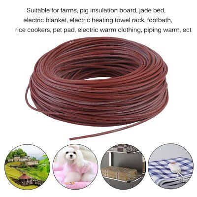 Portable Silicone Carbon Fiber Wire Electric Heater Hotline For Floor Heating RF