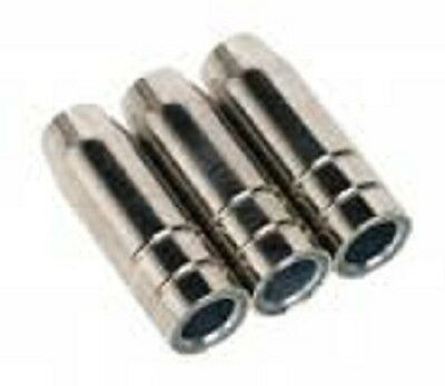 SEALEY MIG995 Conical Nozzle TB15 Pack of 3 • Pack of conical nozzles SUPER MIG