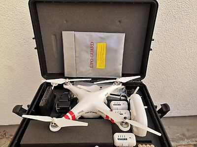 Dji Pahntom 2 + retour video + OSD + 3 accus