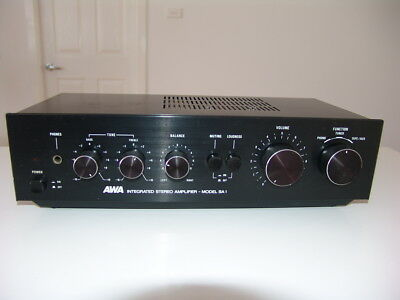 Vintage Retro Solid State Integrated Amplifier AWA SA1, Phono, made in Japan