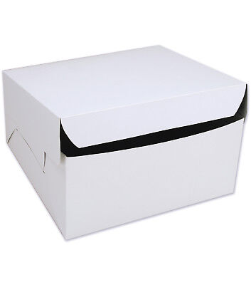 """8""""10""""12""""14""""16""""18""""20""""inch White Party Cake Box For Weddings Birthday Christenings"""
