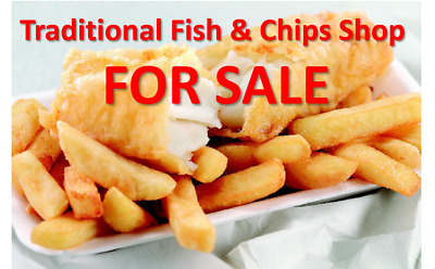 Fish And Chips Takeaway Shop For Sale