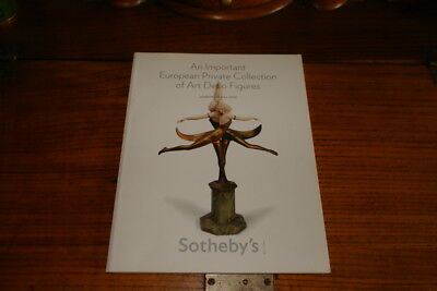 Sotheby's Catalogue-An Important European Coll.of Art Deco Figures,19 May 2010