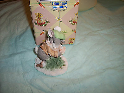 Enesco - My Blushing Bunnies Fig.  WINTERTIME BLESSINGS # 178616