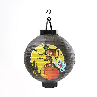 Halloween Lantern Creative Bat Pumpkin Skull Witch Lantern Decor Props RF1