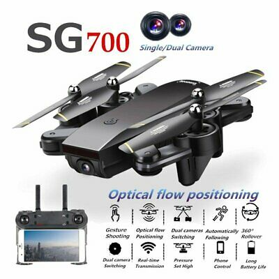Remote Control Quadcopter RC Drone 2.4G 4CH 6-Axis Helicopter Dual FPV Camera