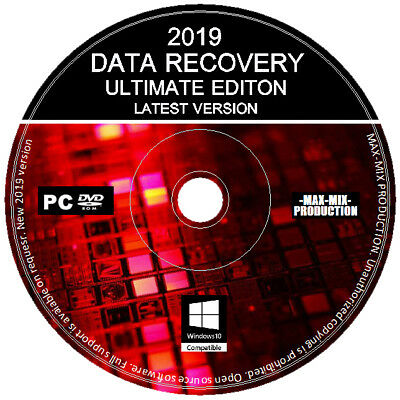 Lost Files Hard Disk & USB Data Recovery Professional Ultimate Software PC DVD