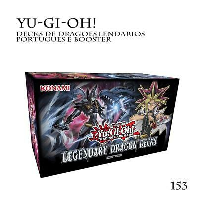 Yu-Gi-Oh ! Legendary Dragon Decks 2017: 3 Lot De153 Cartes Complete Dragon Decks