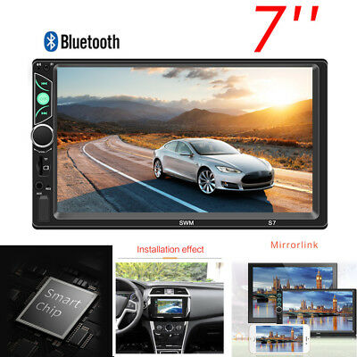 "7"" 2Din HD Screen Car Audio Stereo Video Multimedia Player for iOS&Android Phone"