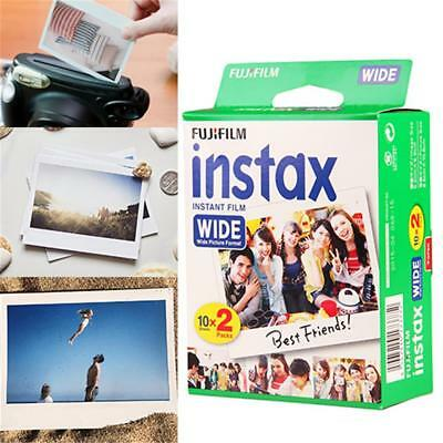 320pcs Fujifilm Instax Instant Film Mini WIDE Photo Pour Fuji Photo 200/210/300
