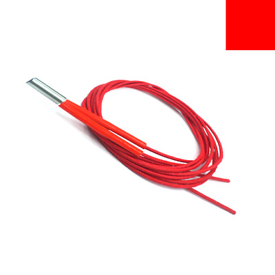 3D Printer Mendel 6x20 Cartridge Heat Heater Wire Cord Cable 12V / 24V 30W / 40W
