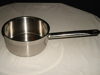 Royal Industries Nsf Stainless Steel 1.5 Qt Sauce Pan No Lid