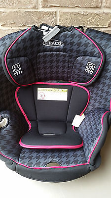 NEW Graco Replacement Contender Car Seat Pad Body Head Support Pink Black Part