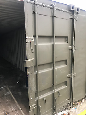 4 x 40ft Shipping Container - Used - £1320 inc. VAT EACH - Greenwich