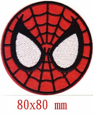Marvel Avengers Spiderman iron-on patch superhero embroidered logo badge tw