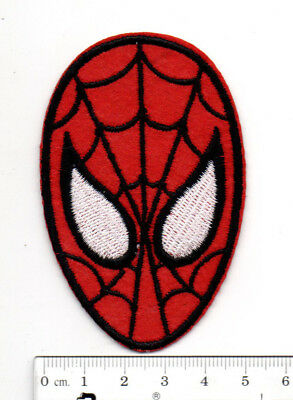 Marvel Avengers Spiderman iron-on patch superhero embroidered logo badge a tw