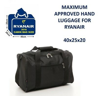 5 Cities New November Ryanair 40x20x25 Maximum Sized Cabin Carry on Holdall Bag