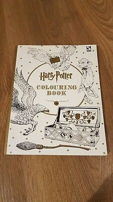 Harry Potter Colouring Book by Warner Brothers NEW