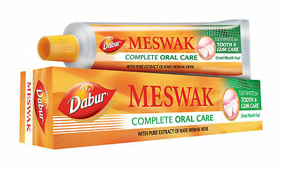 Lot Dabur Meswak Complete Oral Care Herbal Toothpaste 100Gm Indian Free Postage