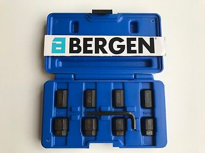 by BERGEN AT645 8pcs Stud remover and installer set