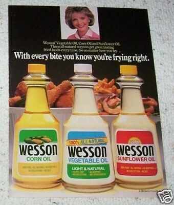 1986 ad page - FLORENCE HENDERSON - Beatrice Wesson Oil vintage food ADVERT PAGE
