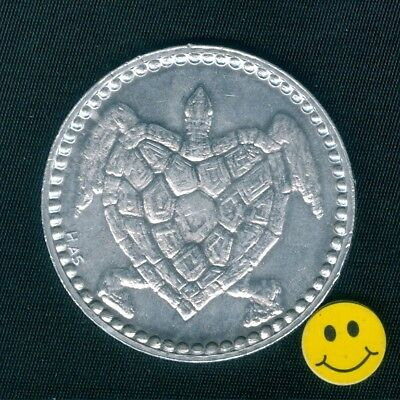 Large Turtle - Unique Collectible Doubloon Coin H.A.S.