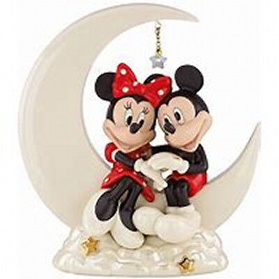 Lenox Disney Over the Moon for Minnie Mouse Figurine Mickey Mouse New WEDDING