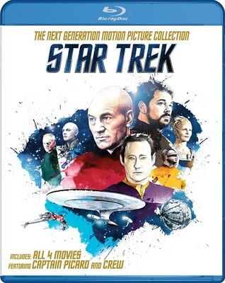Star Trek: The Next Generation Motion Picture Coll 0324 (Blu-ray Used Very Good)