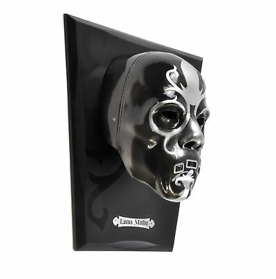 Harry Potter Replica Lucius Malfoy Mask and Plaque