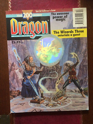 Dragon Magazine  Issue 200 December 1993  Special Collector's Issue