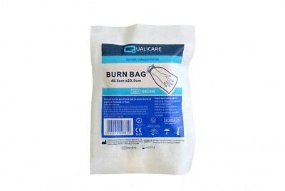 Qualicare Sterile Polythene Burn Bag For Hand Or Foot - Infection Protection
