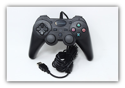 NEW Snakebyte PS3 USB Wired Game Controller for PlayStation 3  Black