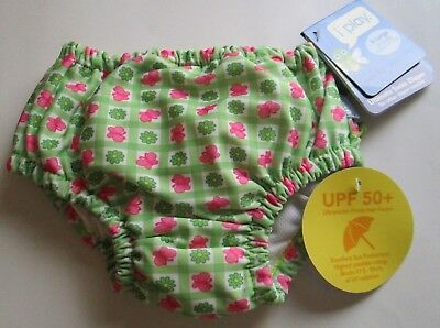 iPLAY REUSABLE ULTIMATE SWIM DIAPER SIZE XLARGE 24 MONTHS NEW