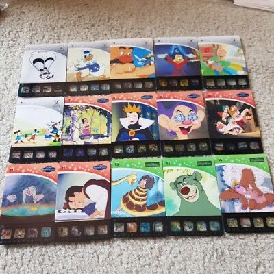 Woolworths Disney Movie Stars Collector Cards - Lion King, Frozen, Mickey More..