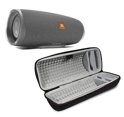 JBL Charge 4 Gray Portable Bluetooth Speaker w/Case