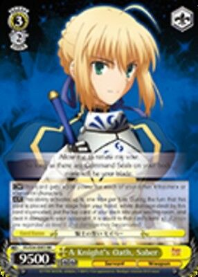 R 1x Near Mint Weiss Schwarz Resolution to Fight Together FS//S34-E006 Saber