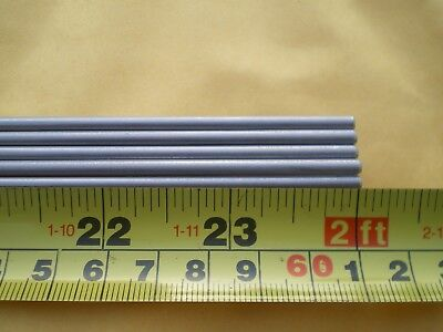 "2 Pcs. Stainless Steel Round Rod 304, 1/8"" (.125"") (3.24Mm.) X 24"" Long"