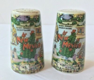 Vintage  Thrift & Co New Mexico Salt and Pepper Shakers